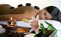 Sarumi medispa hot stone massage therapy